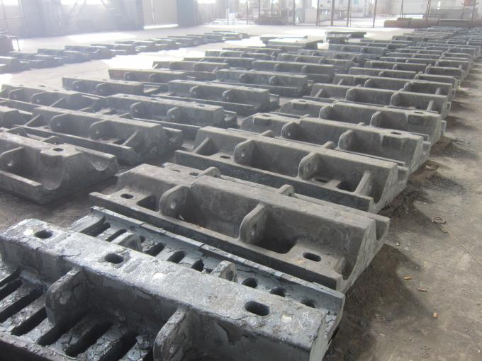 Wear Resistant Cement Mill Liners Plates Cr-Mo Alloy Steel Conch