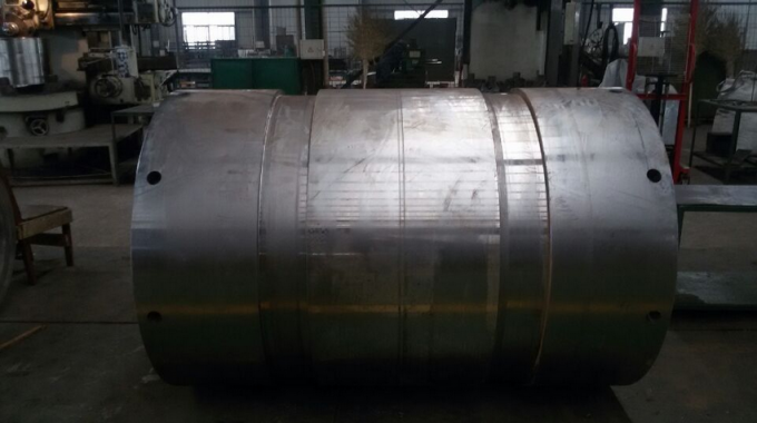 φ1000mm Wear-resistant Tubes High Mn Steel Mn13 Tubes PT Test Impact Value More Than AK147J