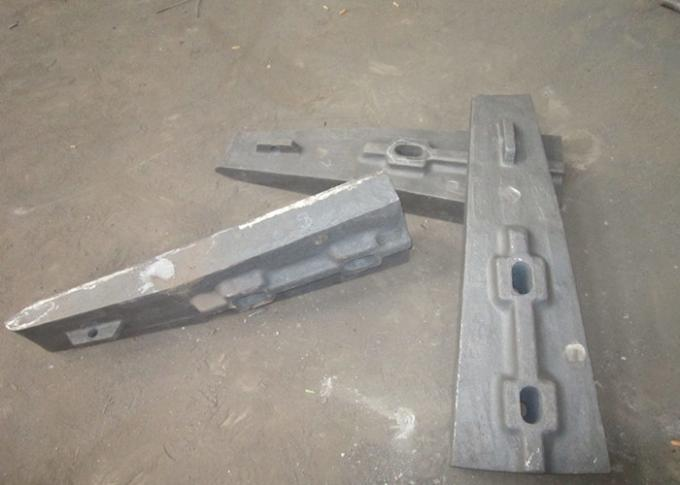 Large size Liner Castings for Coal Mill  Mill Liner Design And Installation Hardness