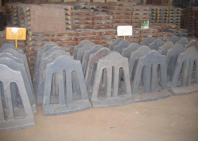 High Cr Cast Iron Retention Ring Applied in Cement Mill / Mill Liner Design and Installation