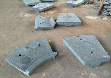 চীন Cr-Mo Alloy Steel Casting of Discharge End Liners  for Ball Mill Parts সরবরাহকারী