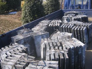 চীন Customized Alloy Steel Mill Liners For France Alstom BBI4384 Mills Coal Mill / Cement Mill / Mine Mill সরবরাহকারী