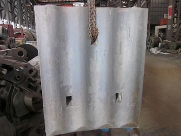 চীন High Cr White Iron Mill Liners D-12-D Coal Mill Hardness HRC58 - HRC61 After Shot Blasting সরবরাহকারী