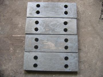 চীন Alloy Steel Castings Plates For Jaw Crusher With Sandblasted Treat সরবরাহকারী