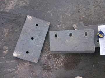 চীন High Cr Wear-Resistant Castings Chute Lining Of White Iron Hardness More than HRC58 সরবরাহকারী