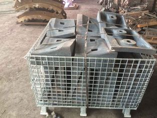 চীন High Cr White Iron Castings 2nd Compartment Shell Liners HRC48 - 54 Cement Mill সরবরাহকারী