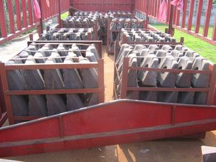 চীন Steel Cr-Mo Wear Alloy Steel Castings Liners For Conch Cement Mill সরবরাহকারী