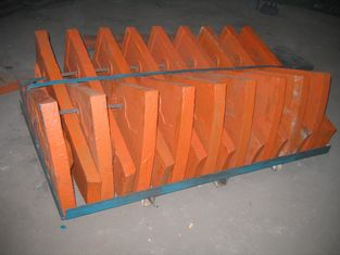 চীন Cr-Mo Alloy Steel 100% Dimensional Check Steel Mill Liners Application Cement Mill সরবরাহকারী