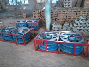 চীন Cr-Mo4 Stacker Travelling Wheel Alloy Steel Castings For Limestone Stacker সরবরাহকারী