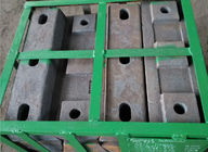 High hardness and wear resistant High Cr Alloy Steel Casting of Lifter Bar for Mill Parts