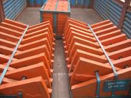 চীন Cr-Mo Alloy Steel Liner Plates High Abrasion Performance Applied in φ3.8M Cement Mill পরিবেশক