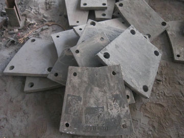 High Cr Steel Blind Plates Cement Mill Liners Hardness HRC43-52